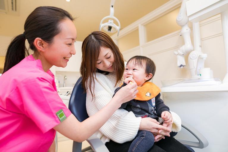 赤ちゃんのデンタルケア|白河のジュンデンタルクリニック
